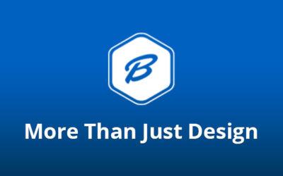 More than design